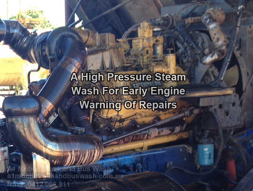 Why Steam Clean Your Truck Engine Is Beneficial?